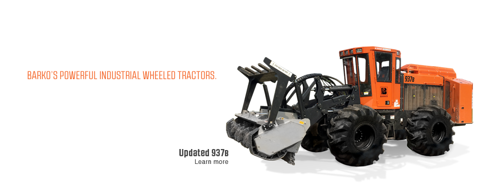 Industrial Wheeled Tractor
